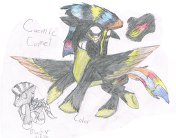 This is the Thunderdash lovechild Cosmic Comet by Yoshi123pegasister