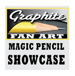 MAGIC PENCIL SHOWCASE FOR GRAPHITE FAN ART by gregchapin
