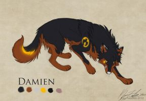 Commission - Damien by KayFedewa