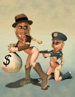 Cops and Robbers by jamesglover
