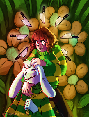It's me, Chara. by alalampone