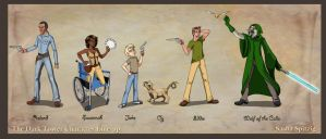 The Dark Tower Char Line-up by Eboshi