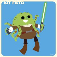 k is for kit fisto by striffle