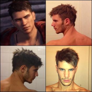 Dante DmC 5 Hairstyle by GNefilim
