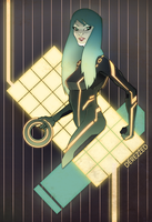 tron lady by skinygalaxier