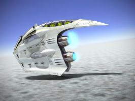 Space Ship 2 by LucianP