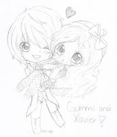 for~gummisweetz by Chibii-chii