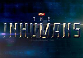 Marvel's The Inhumans Logo by Enoch16