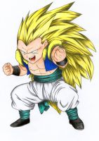 -Gotenks SSJ3- by Byakuya1619