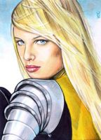 Magik Sketch Card 2 by veripwolf