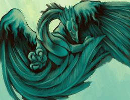 Wind Dragon by dragonrage-