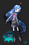 Galaxy Princess Contest Entry by Fishinggurl