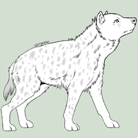Spotted Hyena by Vangorm