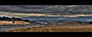 Mountains HDR by bartek-525