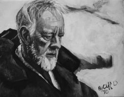 alec guinness my painting by cliford417