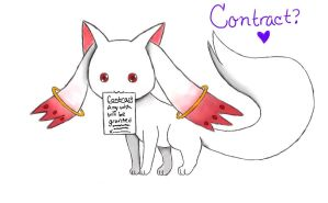 Kyubey Contract by Crystal-Mint