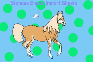 Stoneas Equus Import #001 by Banana-Stoner-Stable