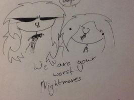 We are your WORST Nightmares by The-Clawed-Shadow