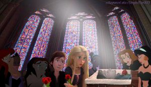 Eugene's Funeral by x12Rapunzelx