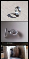 Lost Wax Ring Cast by TheMinx