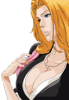 Bleach - Matsumto Rangiku by TooneGeminiElf