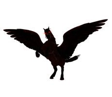 XPS and MMD Shadowmere Winged by Tokami-Fuko