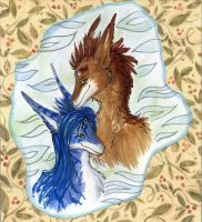 For Isvoc and Akryl by Suane