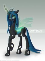 Digi Illustration - MLP Chrysalis by Indivicolours