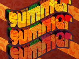 Summer typography by ditalento