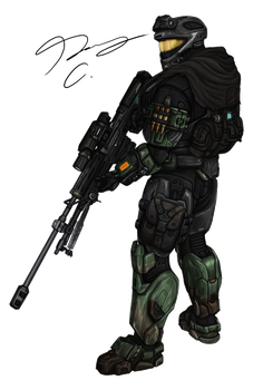 Commission - Spartan MrSkits 2 by Guyver89