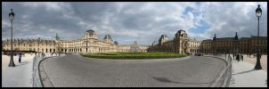Le Louvre Panorama by Blofeld60