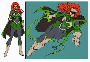 MINDY MARVEL GL flat colorsWIP by gammaknight