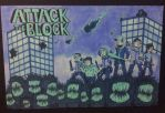 Attack The Block Monochromatic by Nymfo