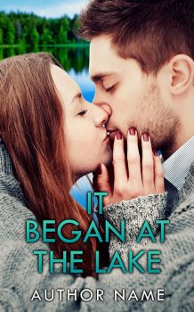 It Began at the Lake Premade Cover by Everpage