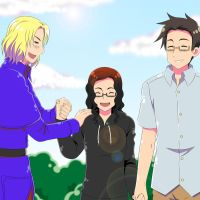 APH Request: Hand in Hand by khakipants12