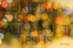 Christmas Is All About Jesus by froztlegend
