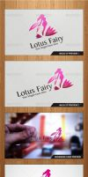 Lotus Fairy Logo Template - Graphicriver by Changyik