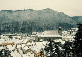 Black Church Brasov by seraphRo