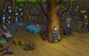 Numbuh One room by KNDzero