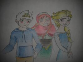 Huh, Elsa you and your sister.... by himymRobinStinson