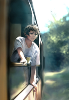 Train Ride by Shumijin