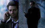 Supernatural castiel crowley by golbeza d3ci0oq