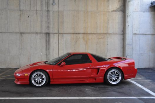 Red NSX by ticklemeimsexy