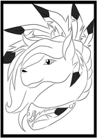 Coloring Page 4/5 by holyhell111