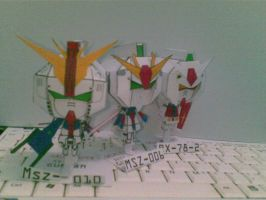 the first three gundam by Grim-paper