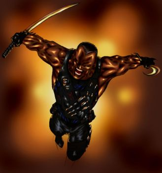 Blade by Spiderguile by Ederoi