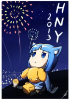 HNY 2013 by Puretails
