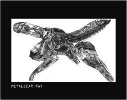 Metal Gear RAY by flewyesterday