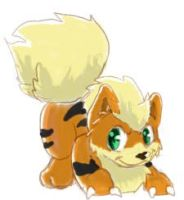 Growlithe by SillyaParrot