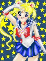 Sailor Moon sketch by mayuyu0405